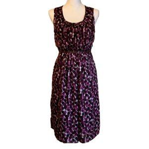 Motherhood Maternity Purple Dot Dress